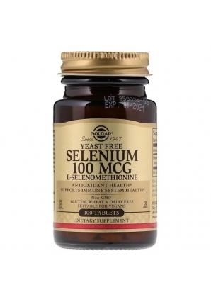 Selenium 100 мкг 100 табл (Solgar)