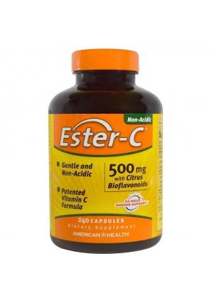 Ester-C 500 мг 240 капс (American Health)