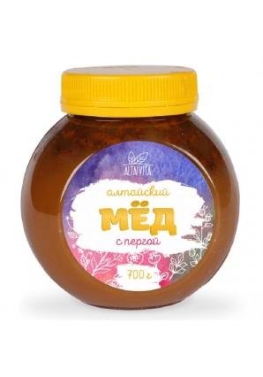 Мёд алтайский с пергой 700 гр (Altaivita)