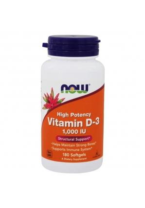 Vitamin D-3 1000 МЕ 180 капс (NOW)