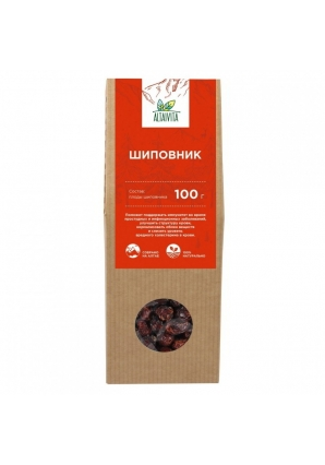 Шиповник (плоды) крафт-коробка 100 гр (Altaivita)