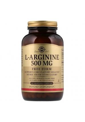 L-Arginine 500 мг 250 капс (Solgar)
