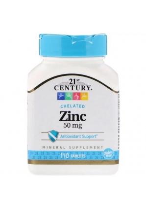Zinc 50 мг 110 табл (21st Century)