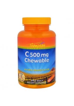 C 500 мг Chewable 60 жев.табл (Thompson)