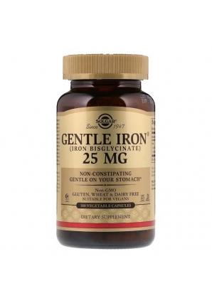 Gentle Iron 25 мг 180 раст капс (Solgar)