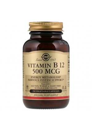 Vitamin B12 500 мкг 250 капс (Solgar)