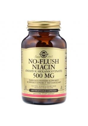 No-Flush Niacin 500 мг 100 капс (Solgar)