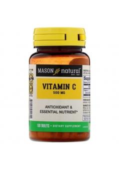 Vitamin C 500 мг 100 табл (Mason Natural)