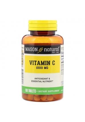 Vitamin C 1000 мг 100 табл (Mason Natural)