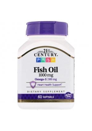 Fish Oil 1000 мг 60 капс (21st Century)