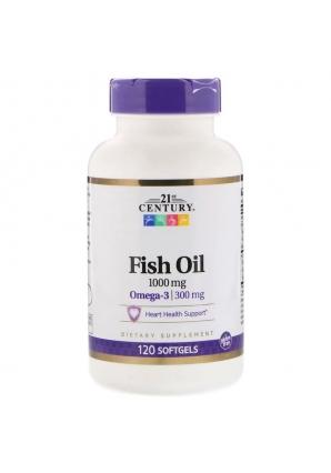 Fish Oil 1000 мг 120 капс (21st Century)
