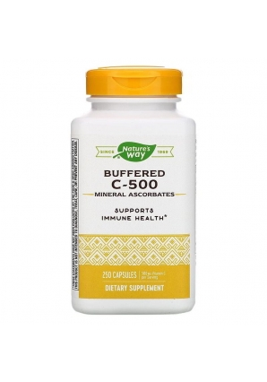 Buffered C-500 500 мг 250 капс (Nature's Way)