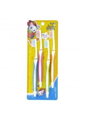 Набор зубных щеток New Junior Normal Toothbrush 4 (Clio)