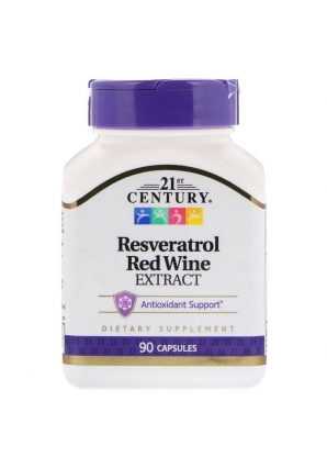 Resveratrol Red Wine Extract 90 капс (21st Century)