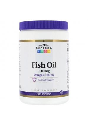 Fish Oil 1000 мг 300 капс (21st Century)