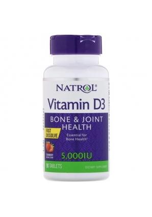 Vitamin D3 5000 МЕ 90 табл (Natrol)