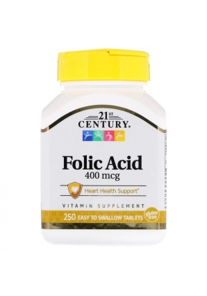 Folic Acid 400 мкг 250 табл (21st Century)