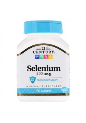 Selenium 200 мкг 60 капс (21st Century)