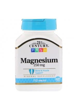 Magnesium 250 мг 110 табл (21st Century)