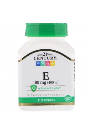 Е 180 мг (400 МЕ) 110 капс (21st Century)