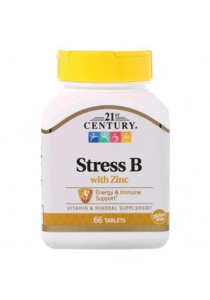 Stress B with Zinc 66 табл (21st Century)