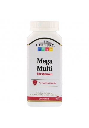 Mega Multi For Women 90 табл (21st Century)