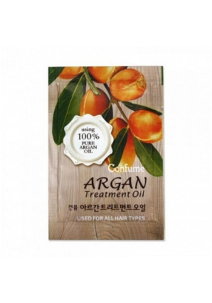 Аргановое масло для волос Confume Argan Treatment Oil 2 мл (Welcos)
