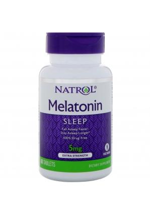 Melatonin 5 мг 60 табл (Natrol)
