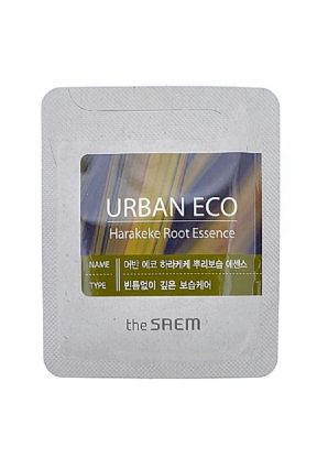 Эссенция с экстрактом корня новозеландского льна Urban Eco Harakeke Root Essence 2 мл (The Saem)