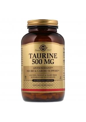 Taurine 500 мг 250 капс (Solgar)