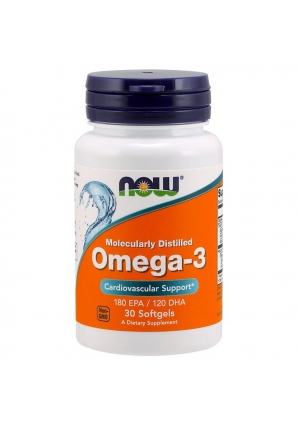Omega-3 1000 мг 30 капс (NOW)