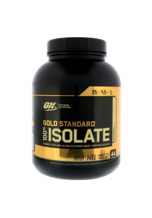 Gold Standard 100% Isolate 1320 гр 2.91lb (Optimum Nutrition)