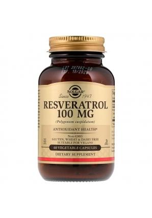 Resveratrol 100 мг 60 капс (Solgar)
