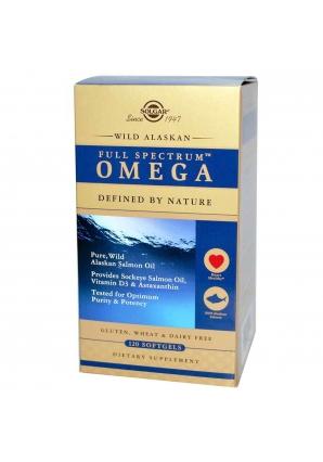 Full Spectrum Omega 120 капс (Solgar)