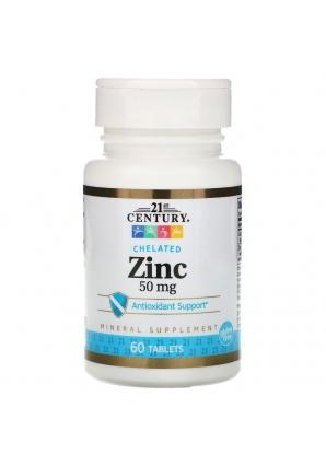 Zinc 50 мг 60 табл (21st Century)