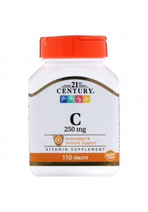Vitamin C 250 мг 110 табл (21st Century)
