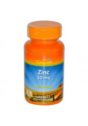 Zinc 50 мг 60 табл (Thompson)