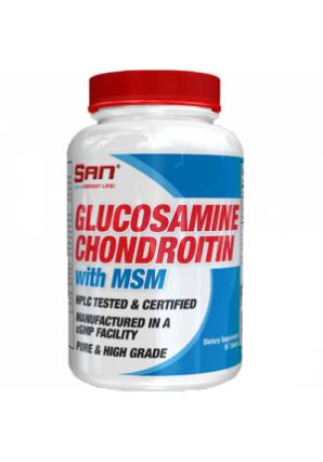 Glucosamine Chondroitin MSM 90 табл (SAN)