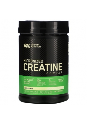 Micronized Creatine Powder 1200 гр. (Optimum Nutrition)
