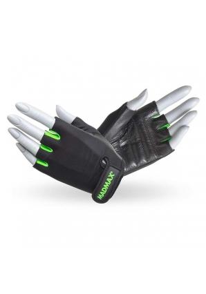 Перчатки женские Rainbow MFG251 черно-зеленые (Mad Max)