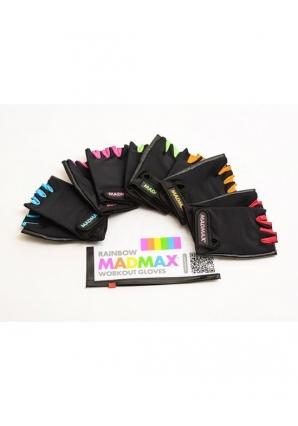 Перчатки женские Rainbow MFG251 черно-красные (Mad Max)