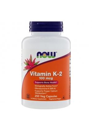 Vitamin K-2 100 мкг 250 капс (NOW)