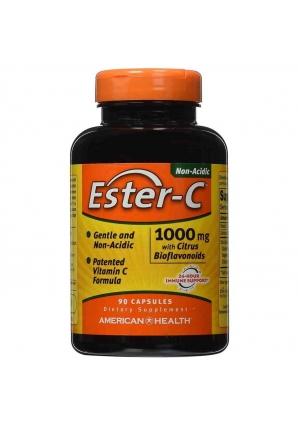 Ester-C with Citrus Bioflavonoids 1000 мг 90 капс (American Health)