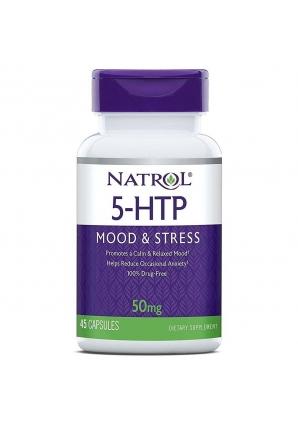 5-HTP 50 мг 45 капс (Natrol)