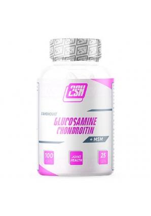 Glucosamine + Chondroitin + MSM 100 капс (2SN)