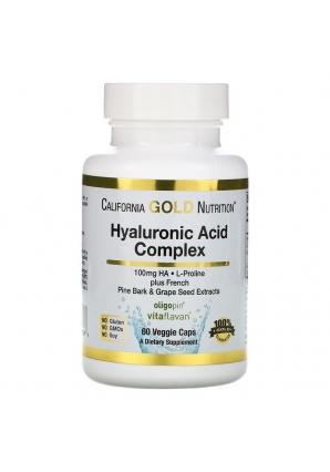 Hyaluronic Acid Complex 60 капс (California Gold Nutrition)