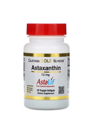 Astaxanthin 12 мг 30 капс (California Gold Nutrition)