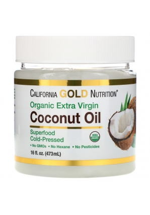 Coconut Oil 473 мл (California Gold Nutrition)