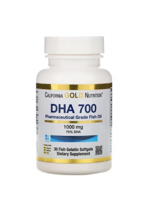 DHA 700 1000 мг 30 капс (California Gold Nutrition)