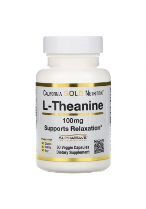 L-Theanine 100 мг 60 капс (California Gold Nutrition)